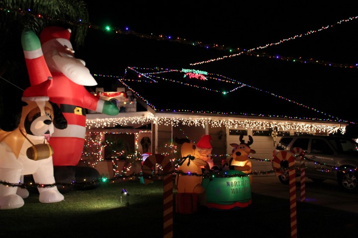 Christmas Lights In Chino Ca