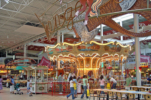 Grapevine Mills Mall is one of the biggest attractions in the Grapevine area for shopping, dinning, and entertainment. There is plenty of fun for the family including an AMC Theaters, Legoland, SeaLife Grapevine, and an ice skating rink.